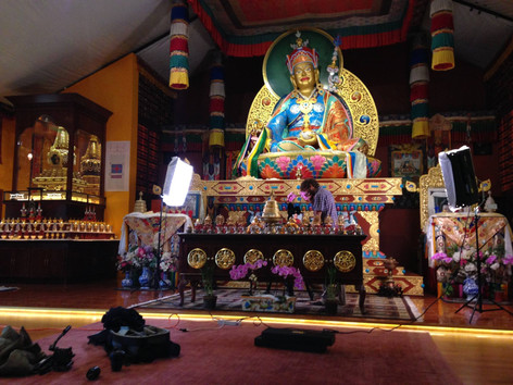 SHOOTING AT TIBETAN TEMPLE PEMA OSEL LING