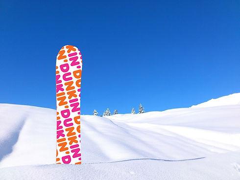 Dunkin Snowboard Giveaway 2021