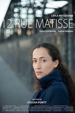 Affiche 12 Rue Matisse