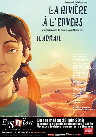 Affiche La Rivière à l'Envers - Hannah