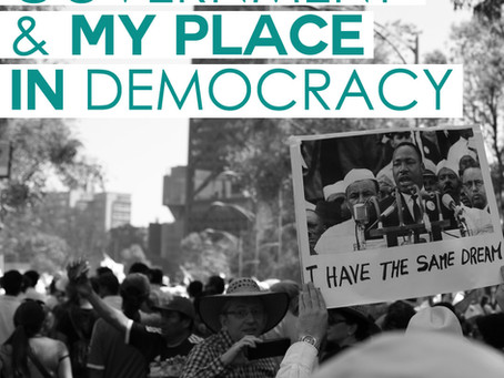 God, Government and my place in democracy