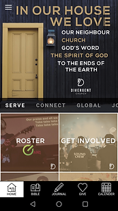 Church Canberra, Divergent Church app