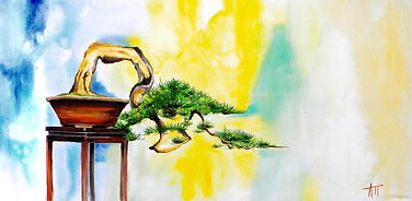 """Cascading Bonsai"""