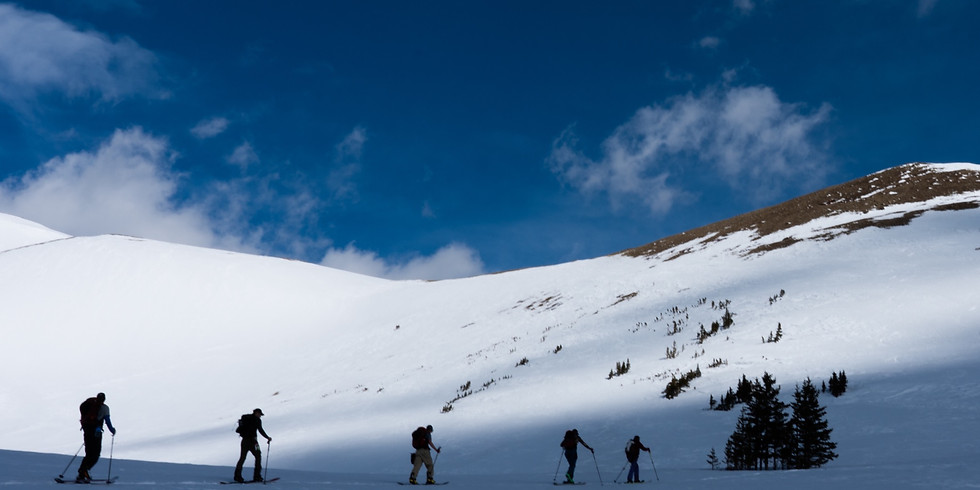 Backcountry Skiing - Vail Pass