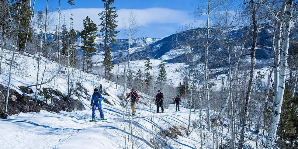 Cross Country Skiing - Rock Creek Trail