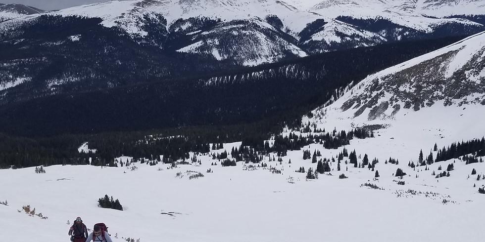 Backcountry Skiing - Mount Baldy