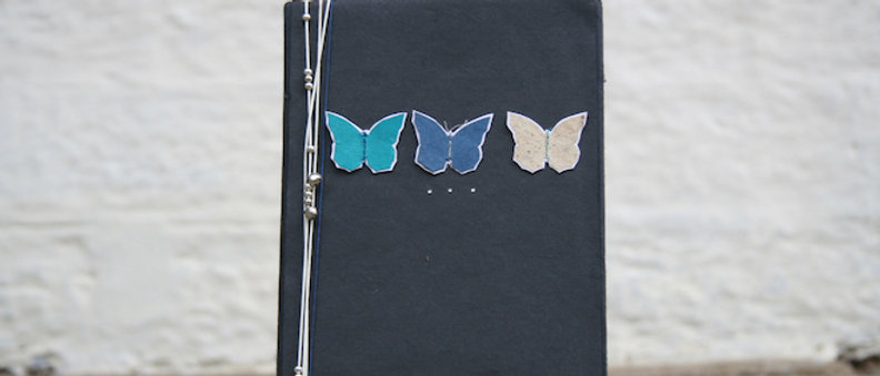 Journal with Butterflies