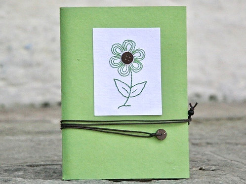 3270 - Colourful Journals with Flower