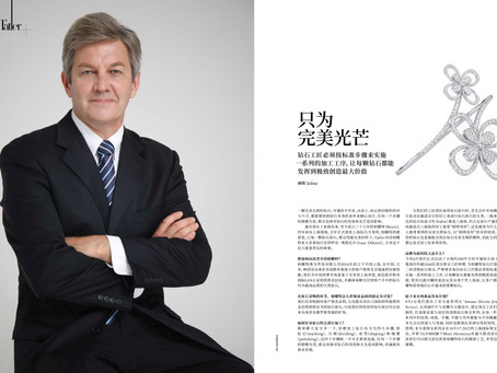 Tatler Magazine's Interview with Boyet Diamond's CEO