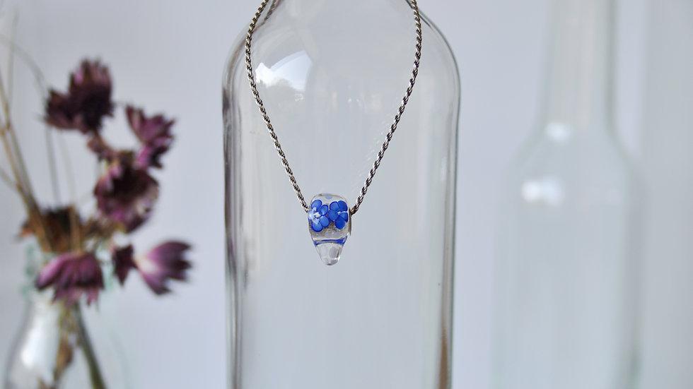 """""""Blue Flower Sugar Skull"""""""