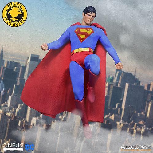 MEZCO TOYZ ONE:12 DC SUPERMAN 1978 EDITION EXCLUSIVE