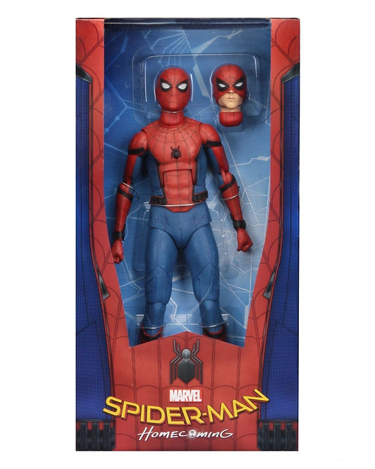 "NECA SPIDER-MAN HOMECOMING 1/4 SCALE 18"" SPIDER-MAN"