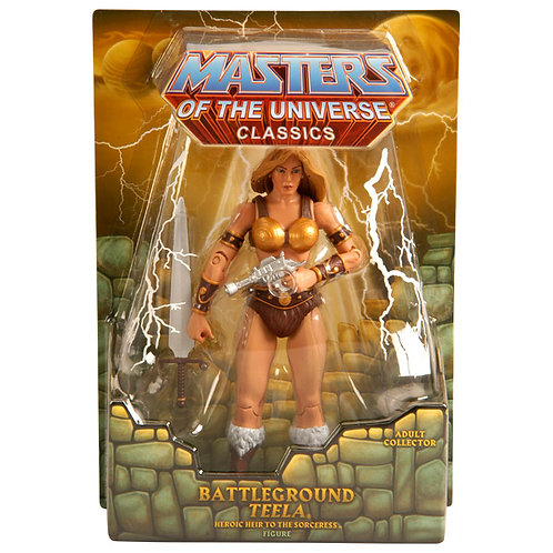 MASTERS OF THE UNIVERSE CLASSICS BATTLEGROUND TEELA