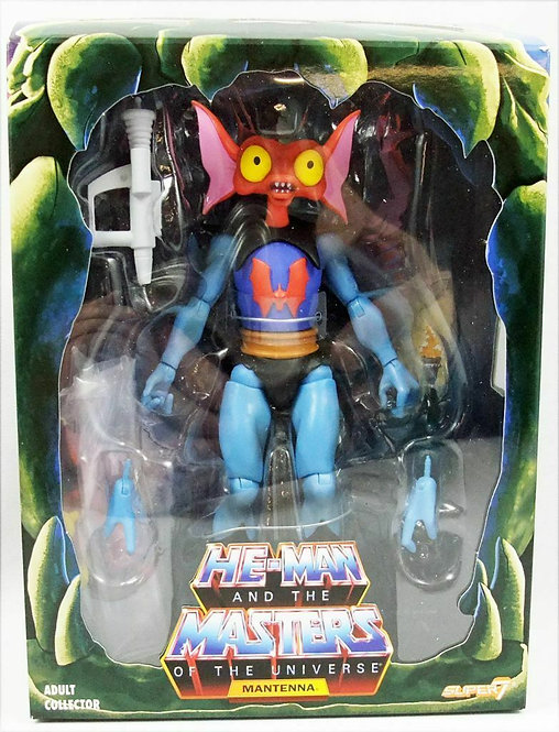 SUPER 7 MASTERS OF THE UNIVERSE FILMATION MANTENNA