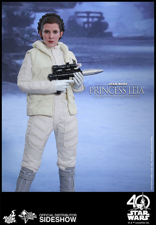HOT TOYS STAR WARS EMPIRE STRIKES BACK PRINCESS LEIA