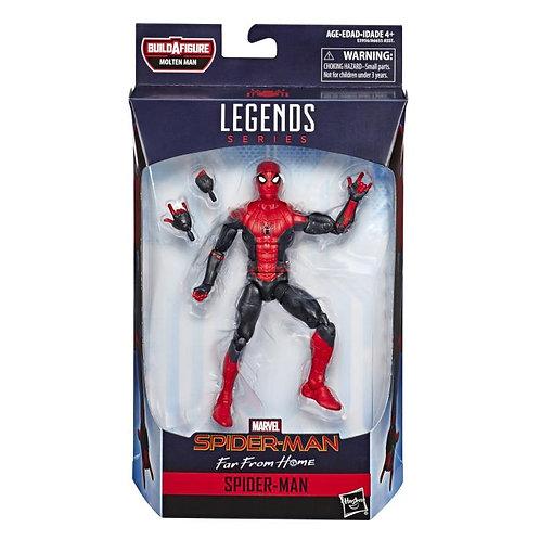 MARVEL LEGENDS SPIDER-MAN FFH SERIES MOLTEN MAN SPIDER-MAN