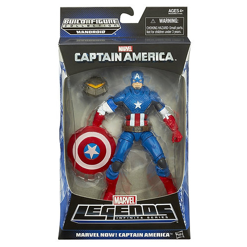MARVEL LEGENDS CAPTAIN AMERICA MANDROID SERIES MARVEL NOW! CAPTAIN AMERICA