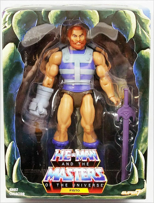 SUPER 7 MASTERS OF THE UNIVERSE FILMATION FISTO
