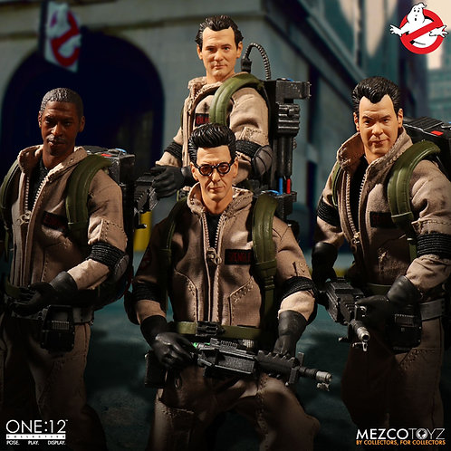 MEZCO TOYZ ONE:12 GHOSTBUSTERS DELUXE BOX SET