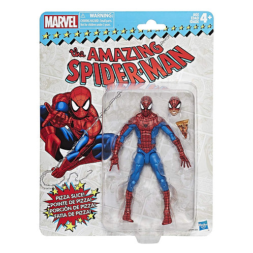 MARVEL RETRO COLLECTION SPIDER-MAN WITH PIZZA