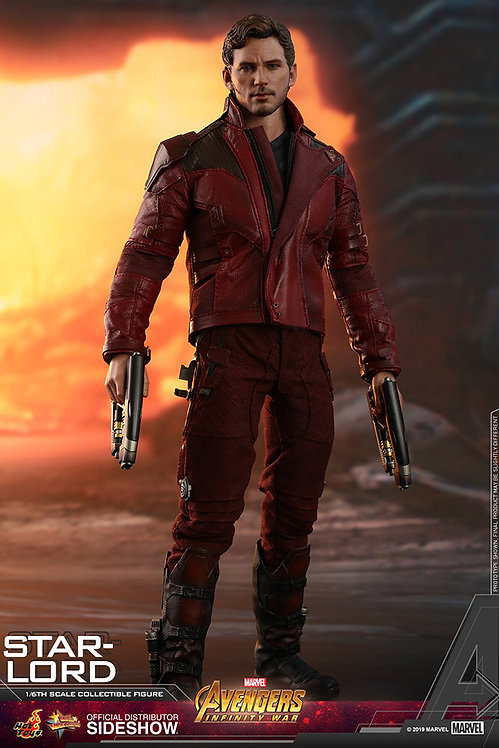 HOT TOYS MARVEL AVENGERS INFINITY WAR STAR-LORD