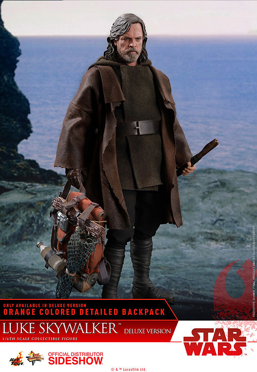 HOT TOYS STAR WARS THE LAST JEDI LUKE SKYWALKER DELUXE