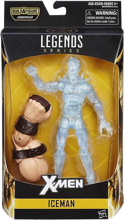 MARVEL LEGENDS X-MEN JUGGERNAUT SERIES ICEMAN