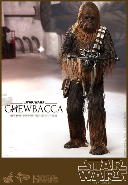 HOT TOYS STAR WARS A NEW HOPE CHEWBACCA