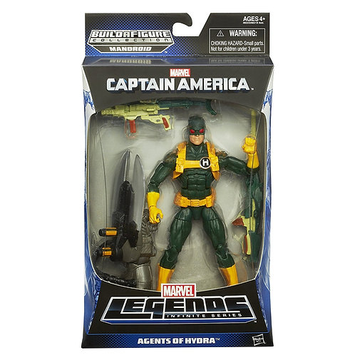 MARVEL LEGENDS CAPTAIN AMERICA MANDROID SERIES AGENTS OF HYDRA