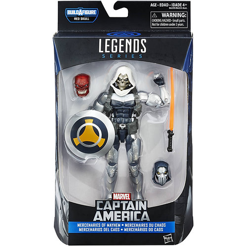 MARVEL LEGENDS CAPTAIN AMERICA SERIES RED SKULL ONSLAUGHT TASKMASTER