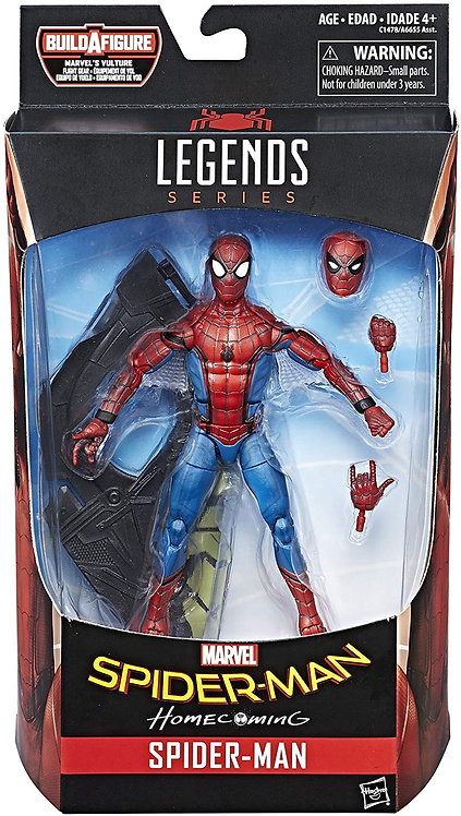 MARVEL LEGENDS SPIDERMAN HOMECOMING SPIDER-MAN TECH SUIT
