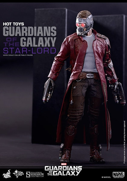 HOT TOYS GUARDIANS OF THE GALAXY STAR-LORD