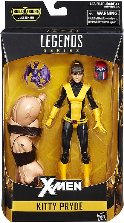 MARVEL LEGENDS X-MEN JUGGERNAUT SERIES KITTY PRYDE