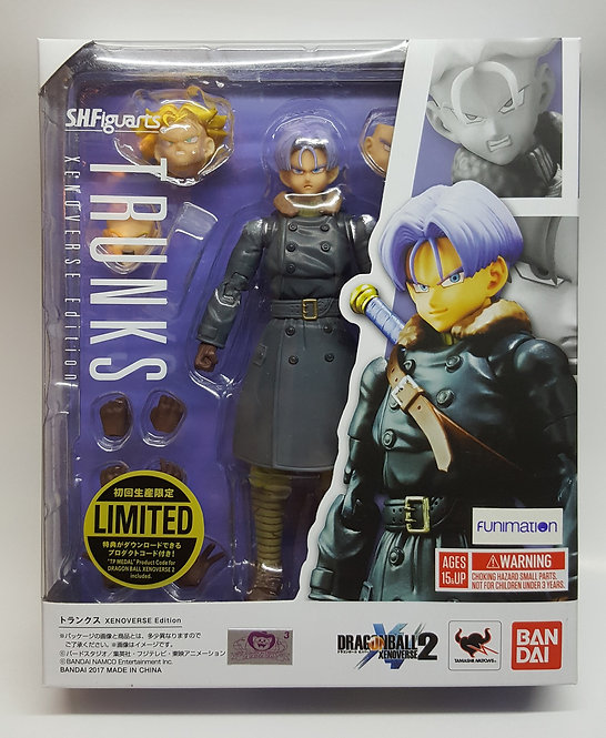 SH FIGUARTS DRAGON BALL Z TRUNKS XENOVERSE EDITION