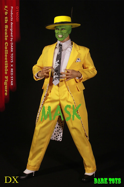 """DARK TOYS THE MASK DELUXE 12"""" 1/6 SCALE ACTION FIGURE"""