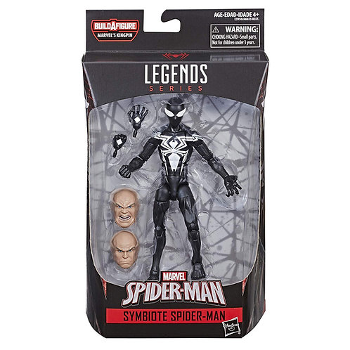 MARVEL LEGENDS SPIDER-MAN SERIES KINGPIN SYMBIOTE SPIDER-MAN