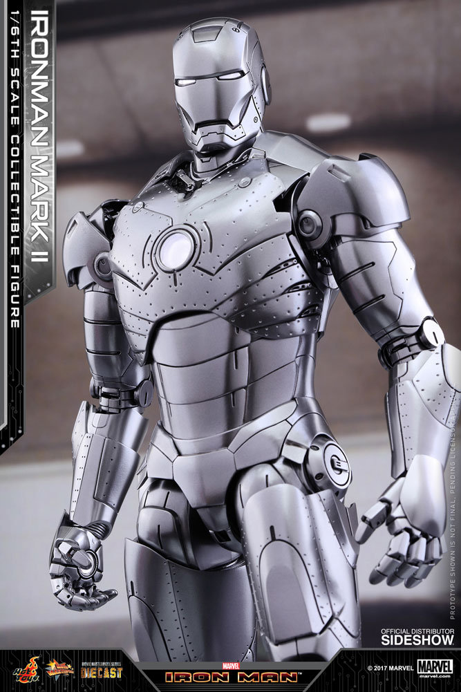 HOT TOYS IRON MAN MARK II DIECAST | toyhideout