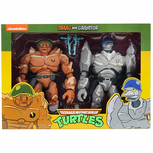 NECA TEENAGE MUTANT NINJA TURTLES TARGET EXCLUSIVE TRAAG AND GRANITOR