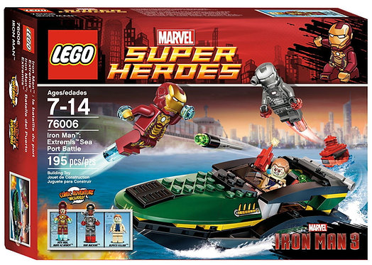 LEGO 76006 MARVEL SUPER HEROES IRON MAN: EXTREMIS SEA PORT BATTLE
