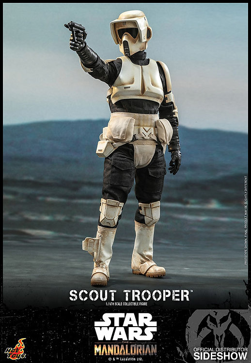 HOT TOYS STAR WARS THE MANDALORIAN SCOUT TROOPER