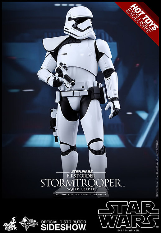 HOT TOYS STAR WARS THE FORCE AWAKENS FIRST ORDER STORMTROOPER SQUAD LEADER EX