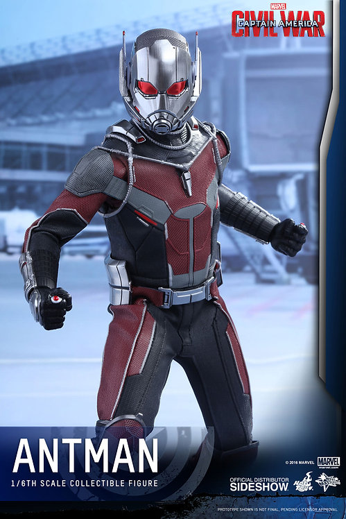 HOT TOYS CAPTAIN AMERICA CIVIL WAR ANT-MAN