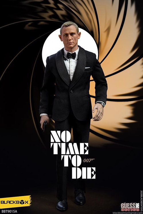 BLACKBOX 007 NO TIME TO DIE JAMES BOND BLACK SUIT VERSION