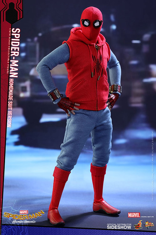 HOT TOYS SPIDER-MAN HOMECOMING SPIDER-MAN HOMEMADE SUIT
