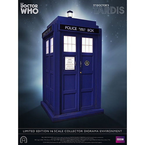 BIG CHIEF BBC DOCTOR WHO 11TH/12TH DOCTOR TARDIS 1/6 SCALE DIORAMA ENVIRONMENT