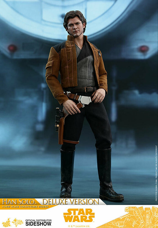 HOT TOYS SOLO: A STAR WARS STORY HAN SOLO DELUXE