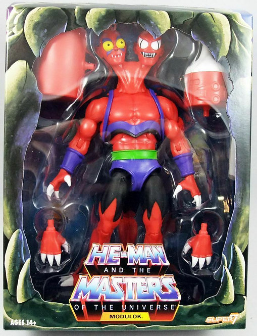 SUPER 7 MASTERS OF THE UNIVERSE FILMATION MODULOK