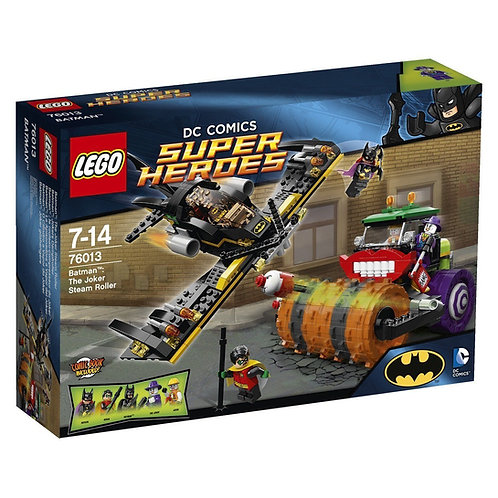 LEGO 76013 DC COMICS SUPER HEROES BATMAN: THE RIDDLER CHASE