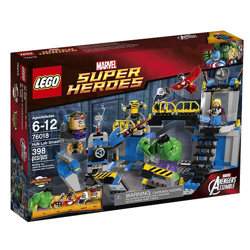 LEGO 76018 MARVEL SUPER HEROES HULK LAB SMASH