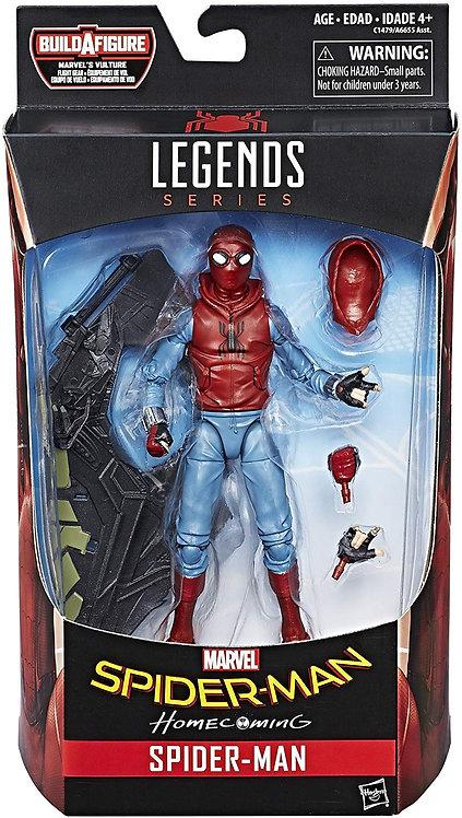 MARVEL LEGENDS SPIDERMAN HOMECOMING SPIDER-MAN HOMEMADE SUIT
